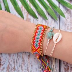 Schelpen armband ibiza