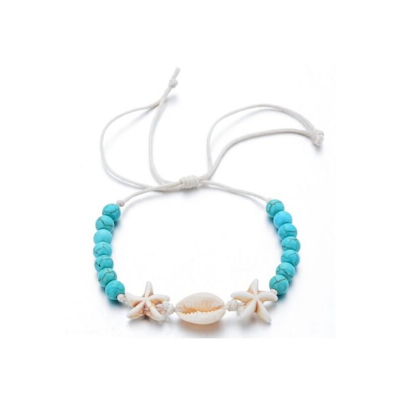 Verstelbare schelpen armband