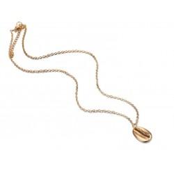 gouden schelpen ketting