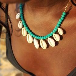 beach schelpen ketting